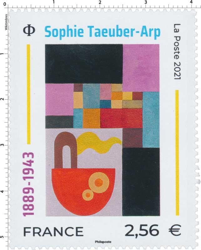 2021 Sophie Taeuber-Arp 1889-1943