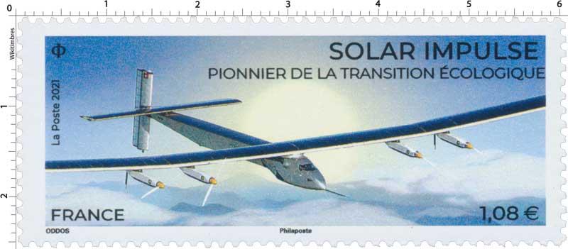 2021 Solar Impulse - Pionnier de la transition écologique