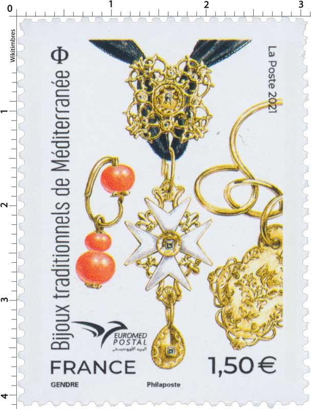 2021 Bijoux traditionnels de Méditerranée - EUROMed Postal