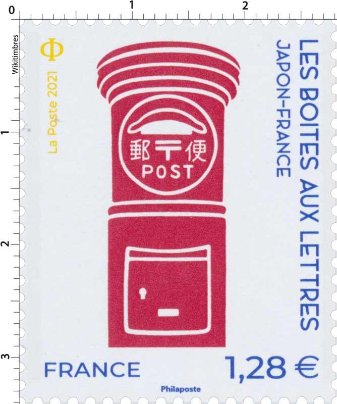 2021 JAPON-FRANCE LES BOITES AUX LETTRES