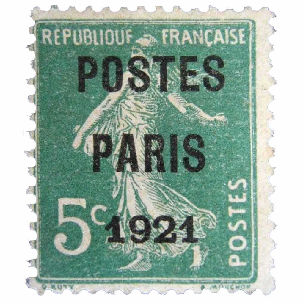 1921 POSTES PARIS