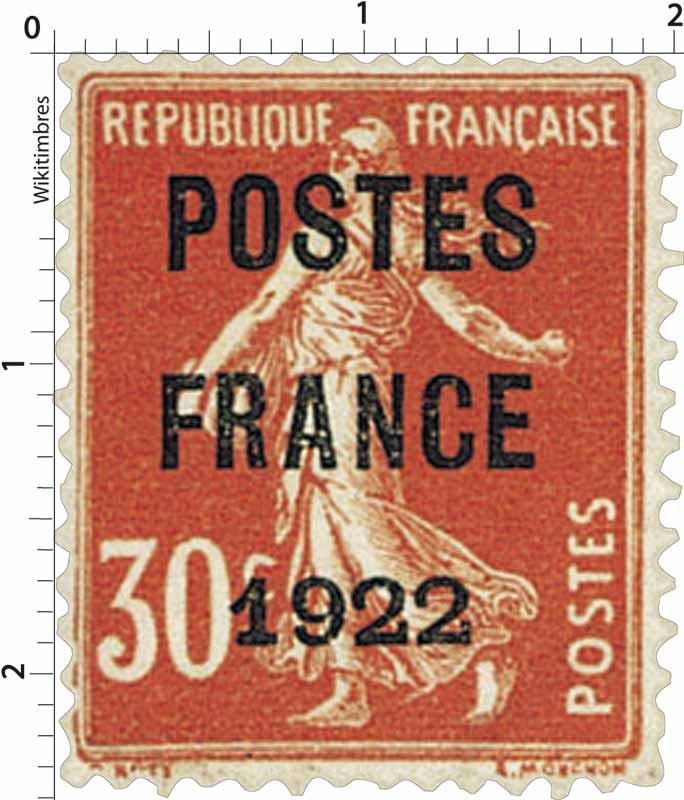 1921 POSTES FRANCE