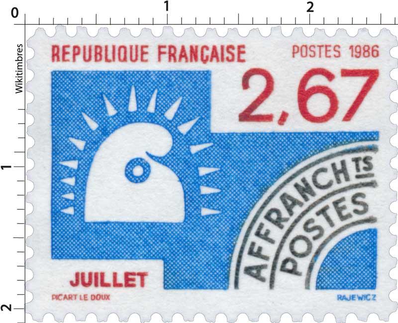 1986 JUILLET
