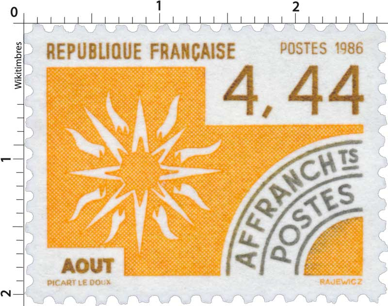 1986 AOÛT