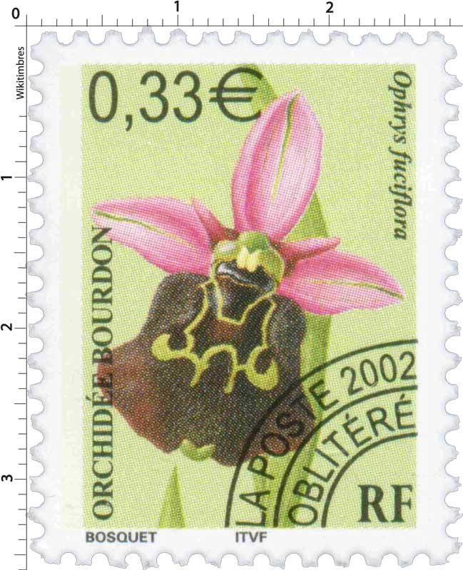 2002 ORCHIDÉE BOURDON Ophrys fuciflora