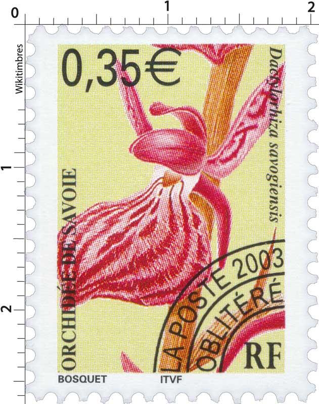 2003 ORCHIDÉE DE SAVOIE Dactylorhiza savogiensis