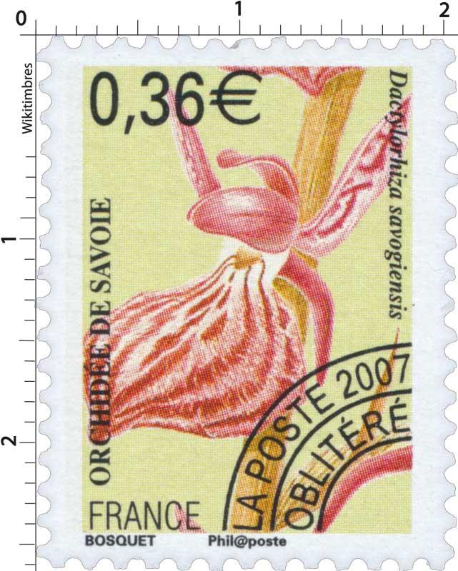 2007 ORCHIDÉE DE SAVOIE Dactylorhiza savogiensis