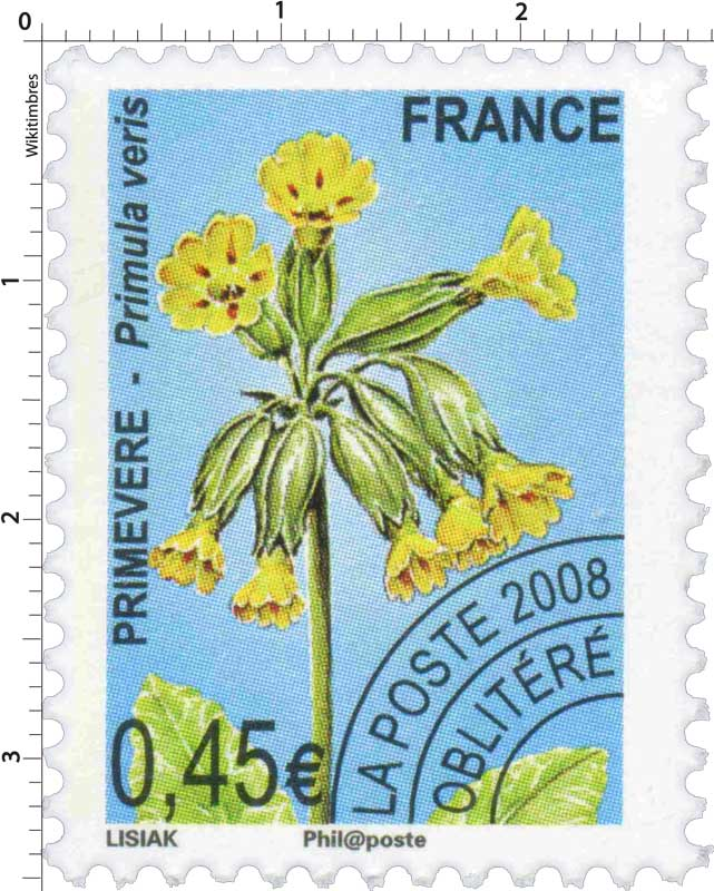 2008 PRIMEVÈRE - Primula veris