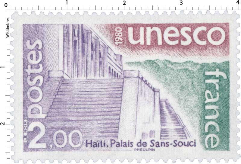 1980 Unesco Haîti, Palais de sans-souci