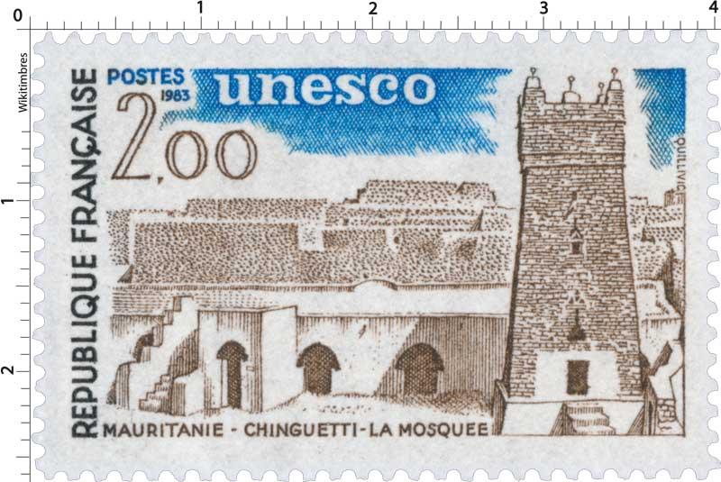 1983 Unesco MAURITANIE - CHINGUETTI - LA MOSQUÉE