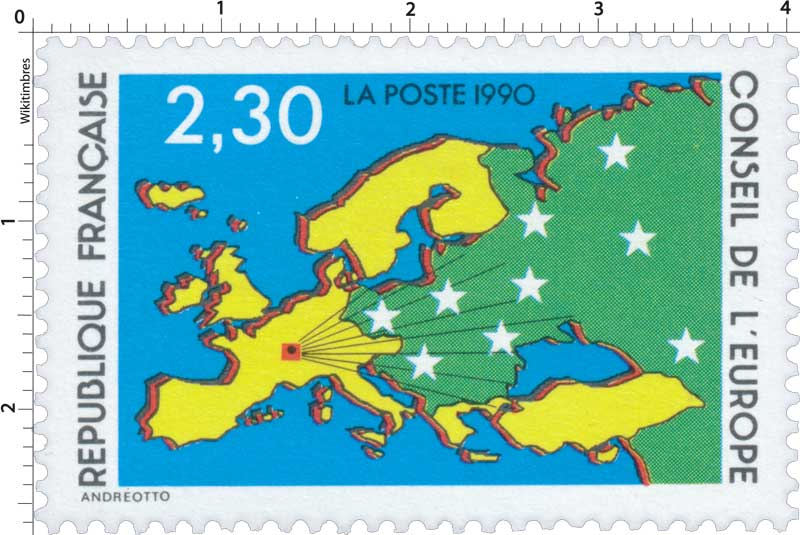 1990 CONSEIL DE L'EUROPE
