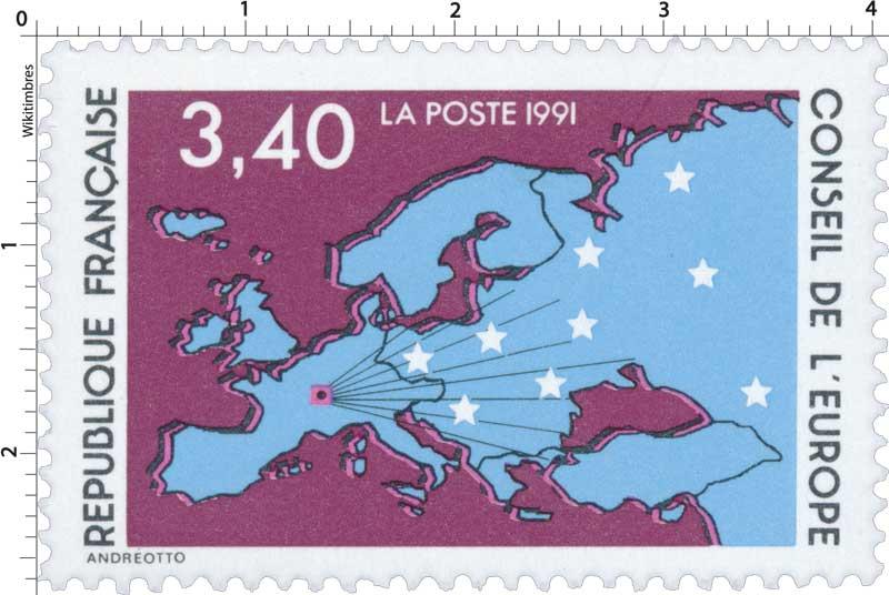 1991 CONSEIL DE L'EUROPE
