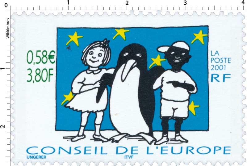 2001 CONSEIL DE L'EUROPE