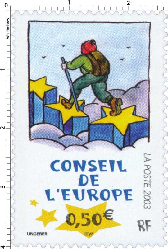 2003 CONSEIL DE L'EUROPE