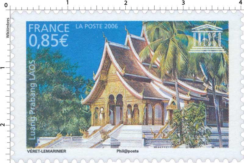 2006 UNESCO Luang Prabang LAOS