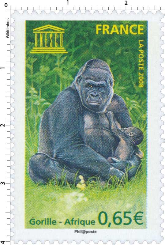 2008 UNESCO Gorille - Afrique