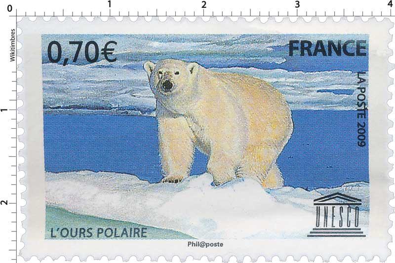2008 UNESCO L'OURS POLAIRE