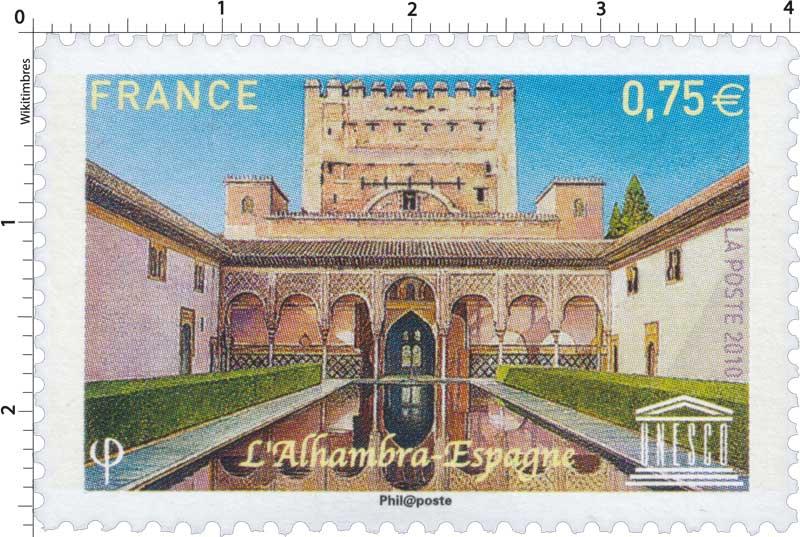 2010 Unesco - L'Alhambra Espagne