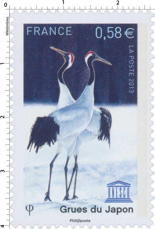 2013 Grues du Japon UNESCO