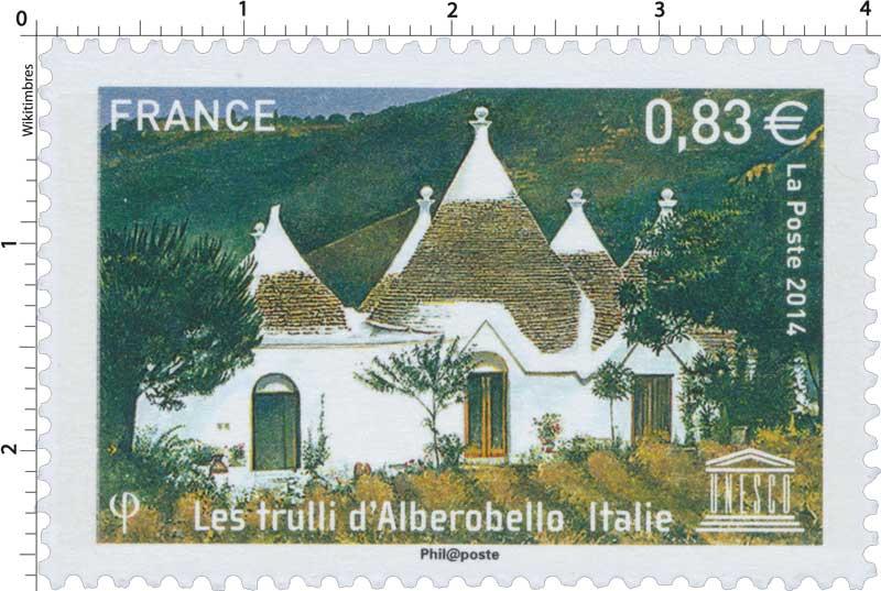 2014 Unesco Trulli d'Alberobello - Italie