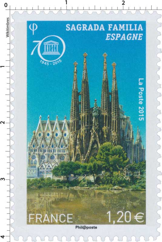 2015 UNESCO Sagrada Familia Espagne