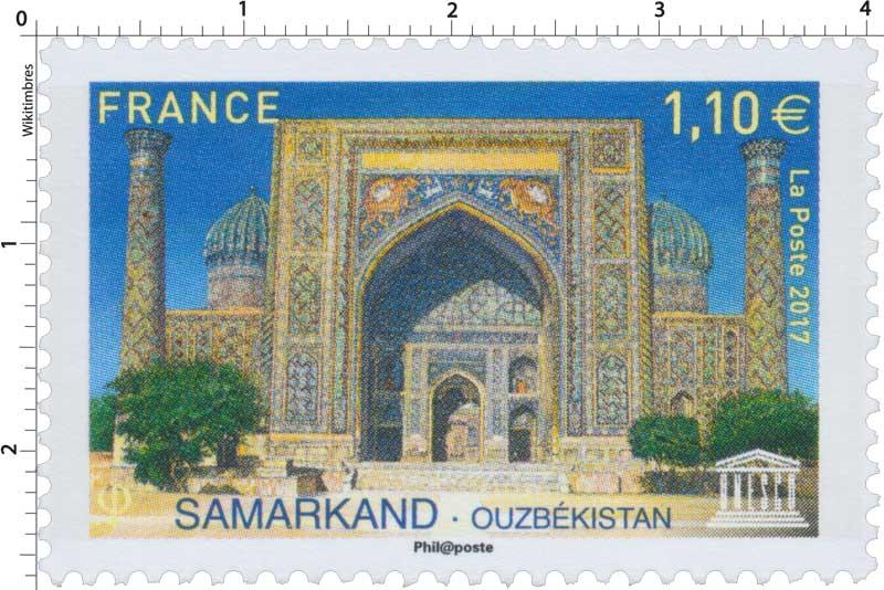 2017 Samarkand - Ouzbékistan UNESCO