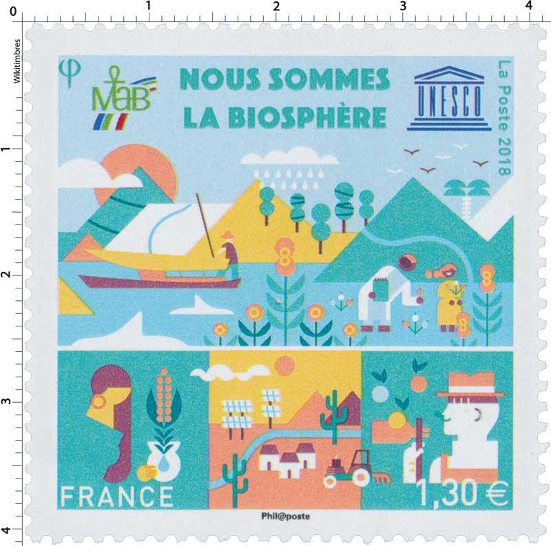 2018 Nous sommes la biosphère - UNESCO - MAB