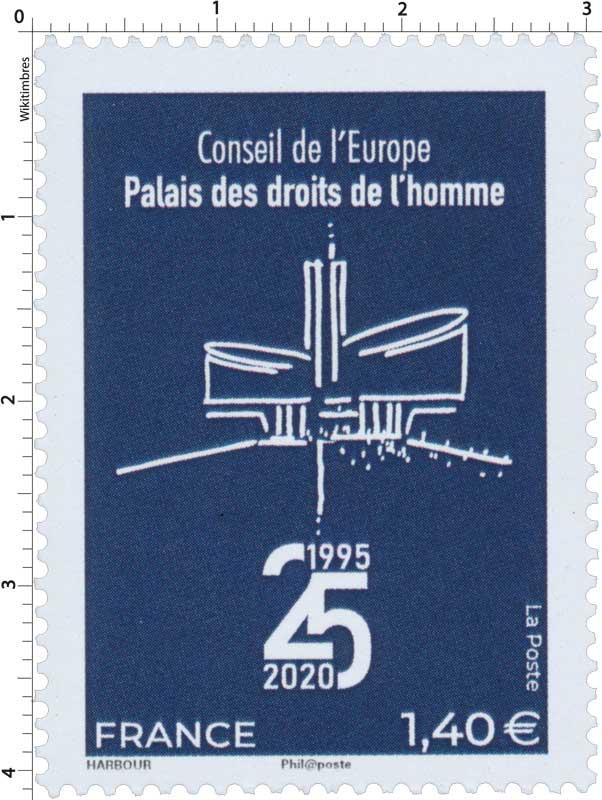CONSEIL DE L'EUROPE PALAIS DES DROITS DE L'HOMME 1995-2020