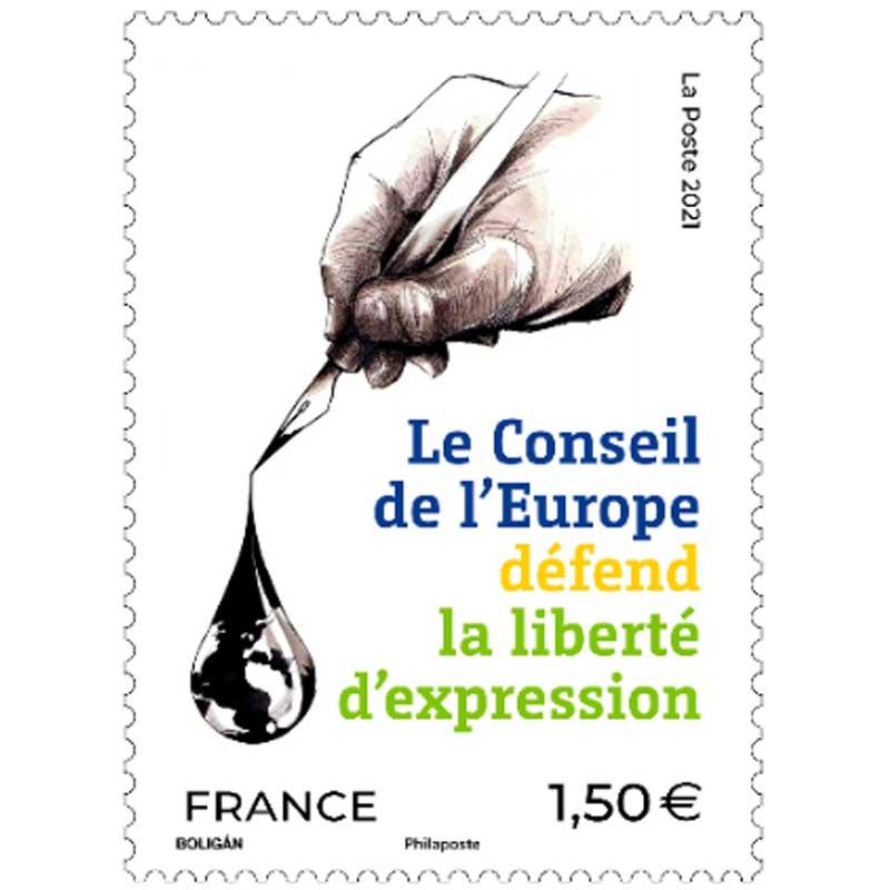 2021 Le conseil de l'Europe défend la liberté d'expression