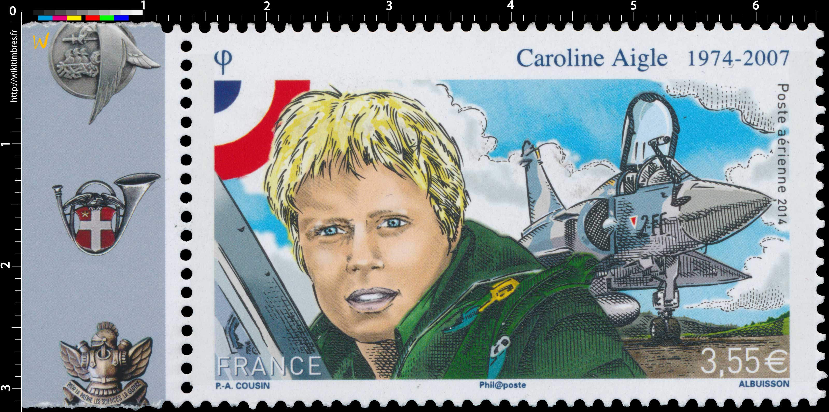 2014 Caroline Aigle 1974-2007