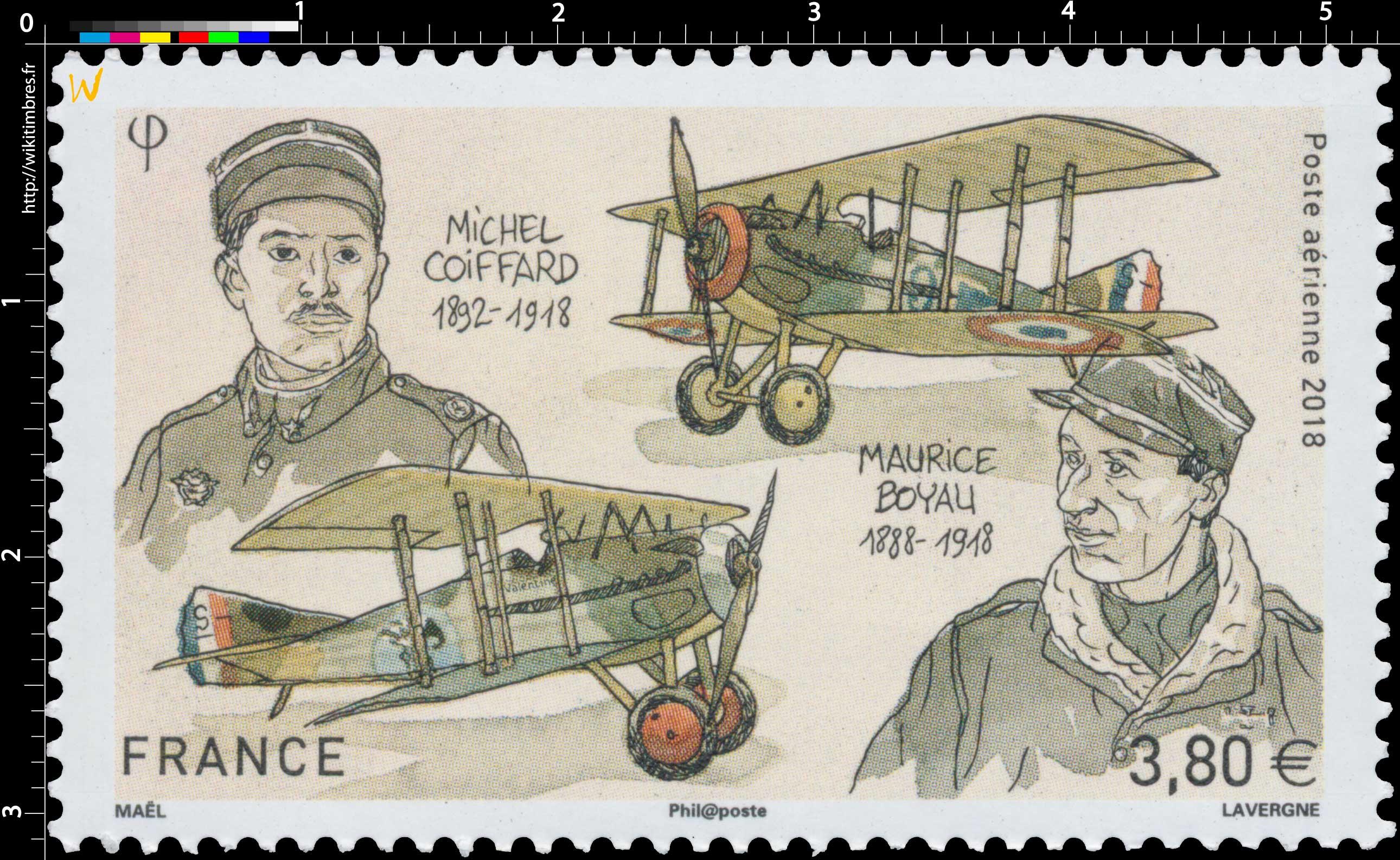 2018 Michel COIFFARD 1892-1918  –  Maurice BOYAU 1888-1918