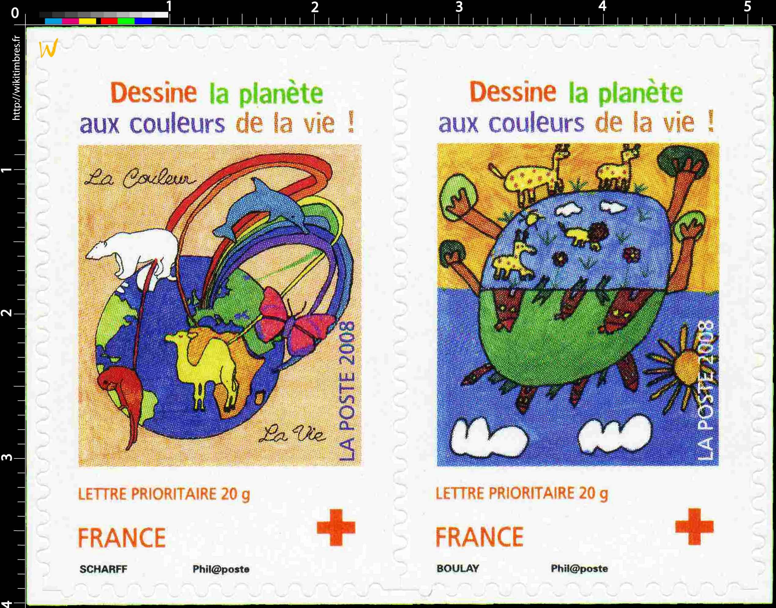 2008 Dessine la planète aux couleurs de la vie !