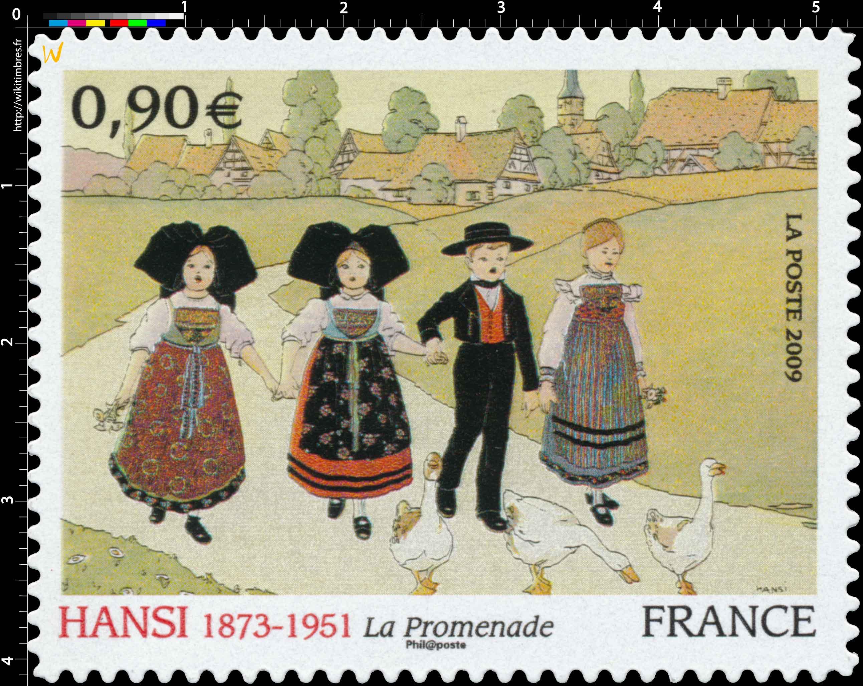2009 HANSI 1873-1951 La Promenade