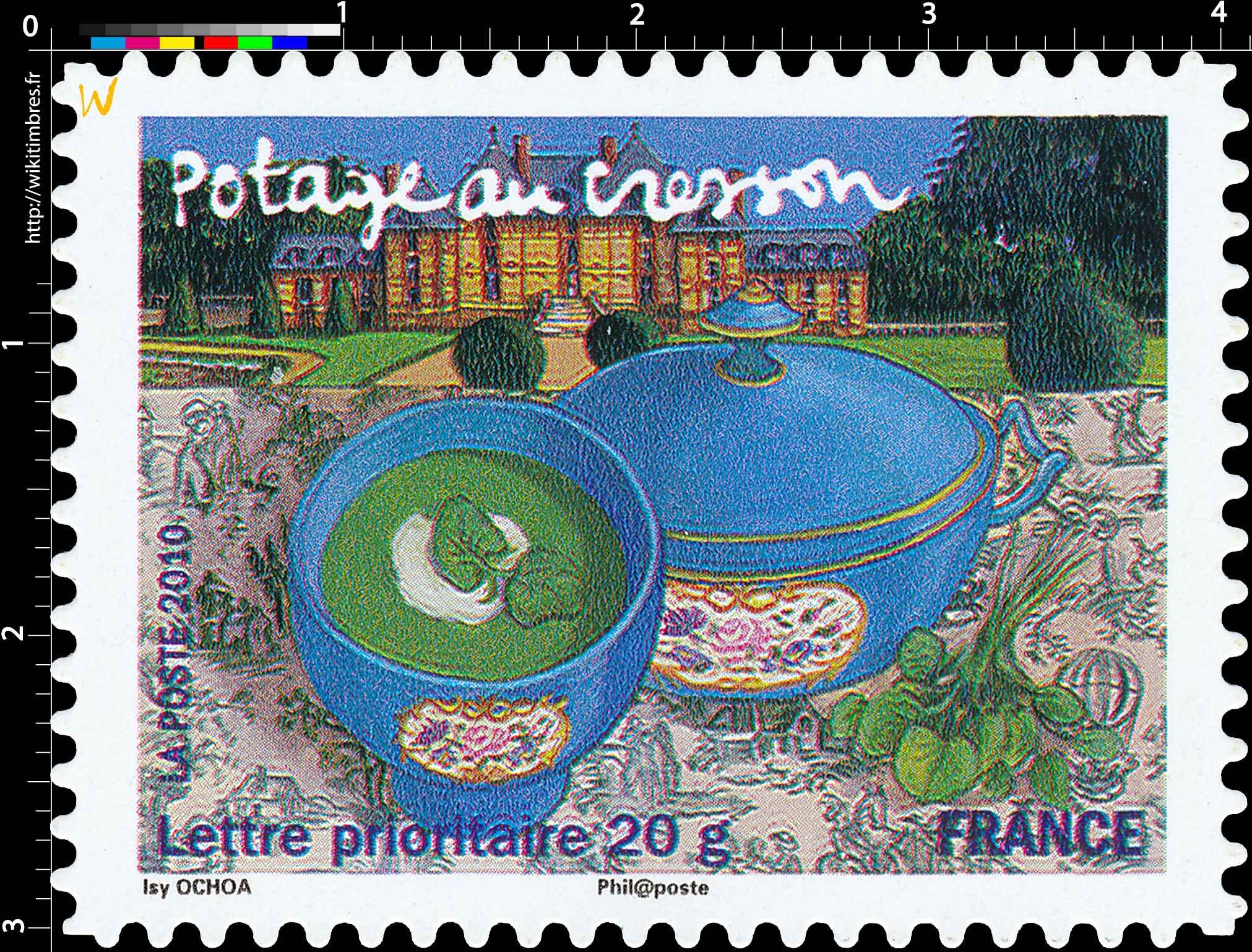 2010 Potage au cresson