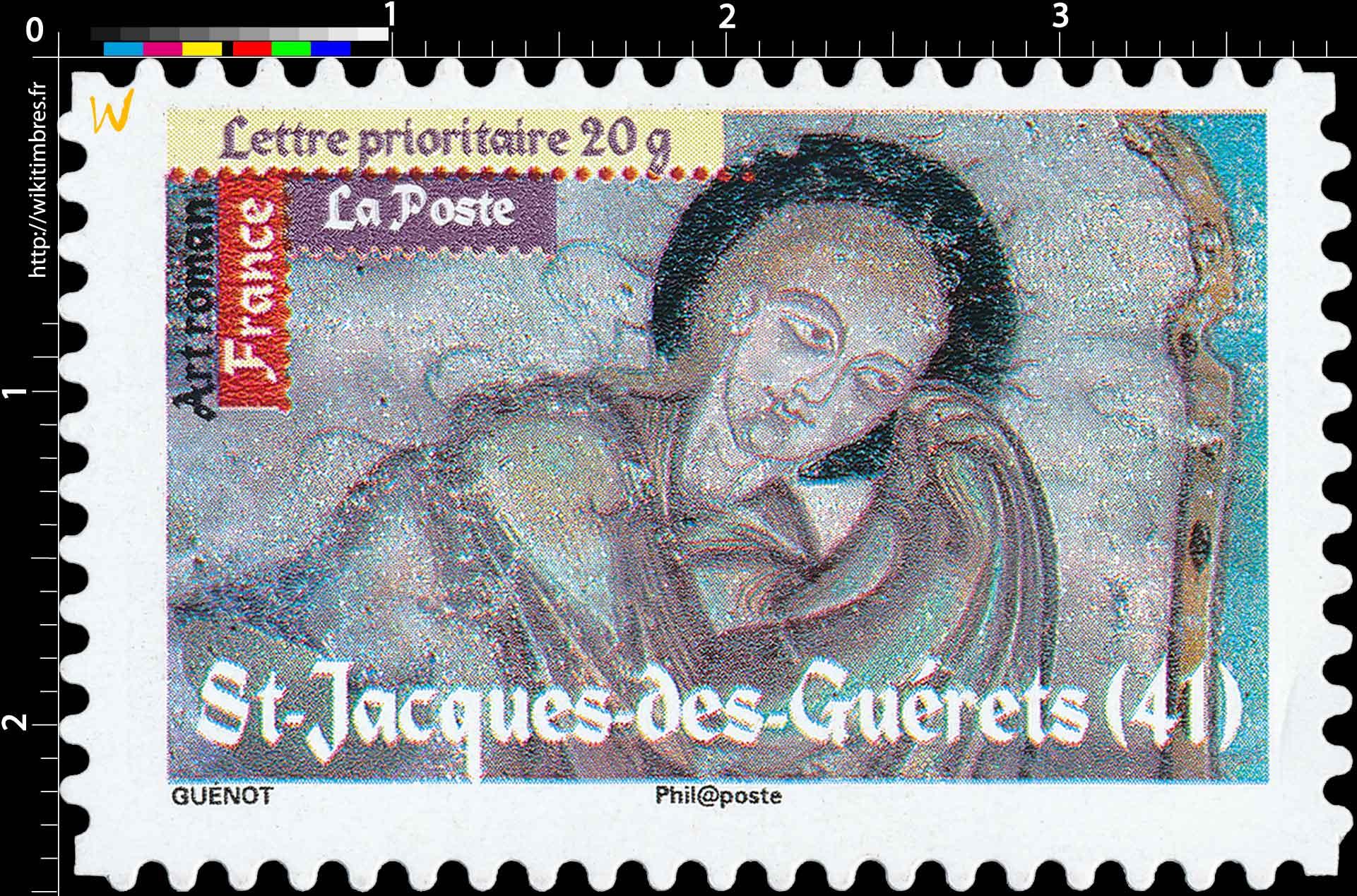 Art roman St-Jacques-des-Guérets (41)