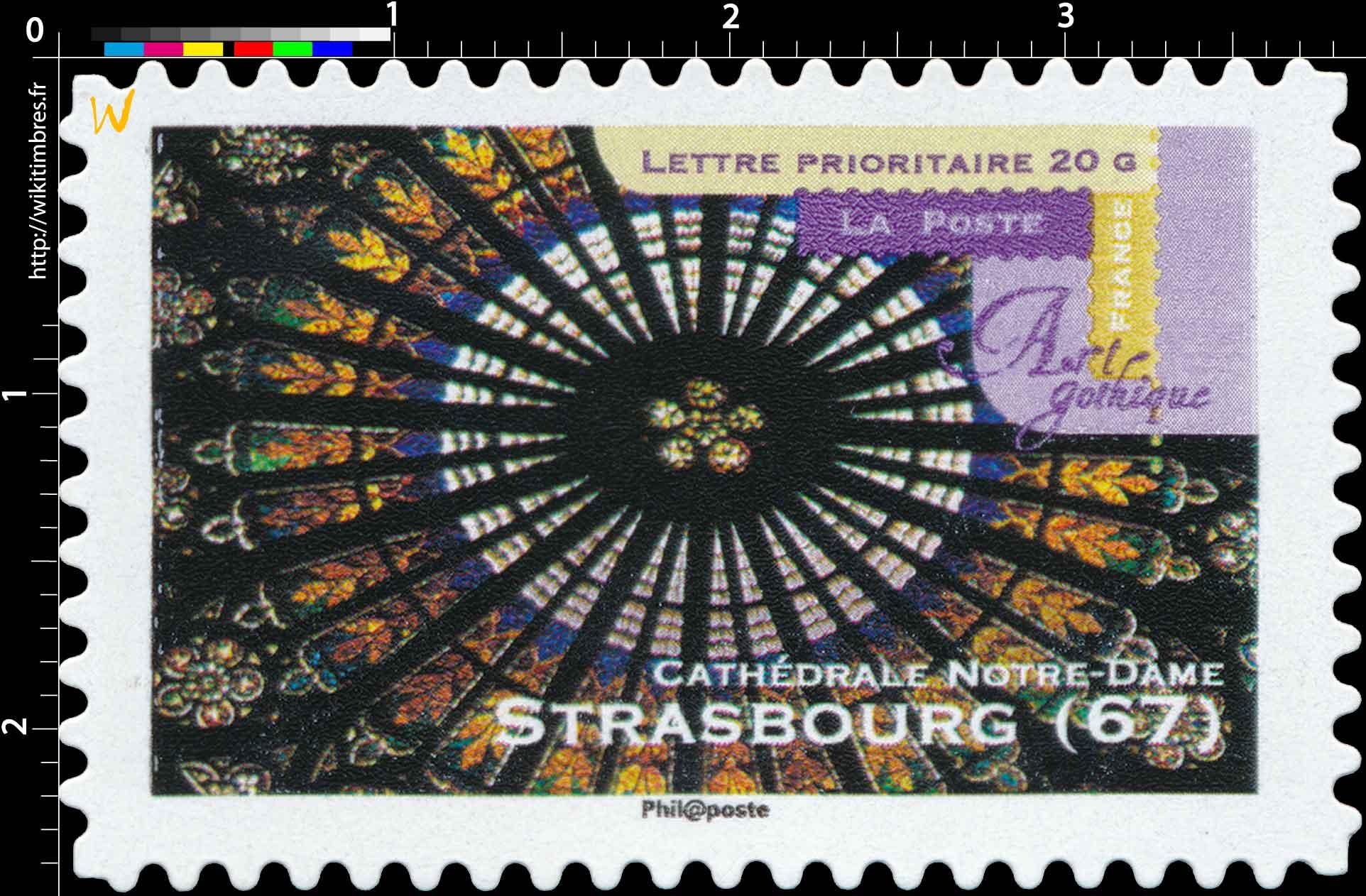Art gothique cathédrale Notre-Dame Strasbourg (67)