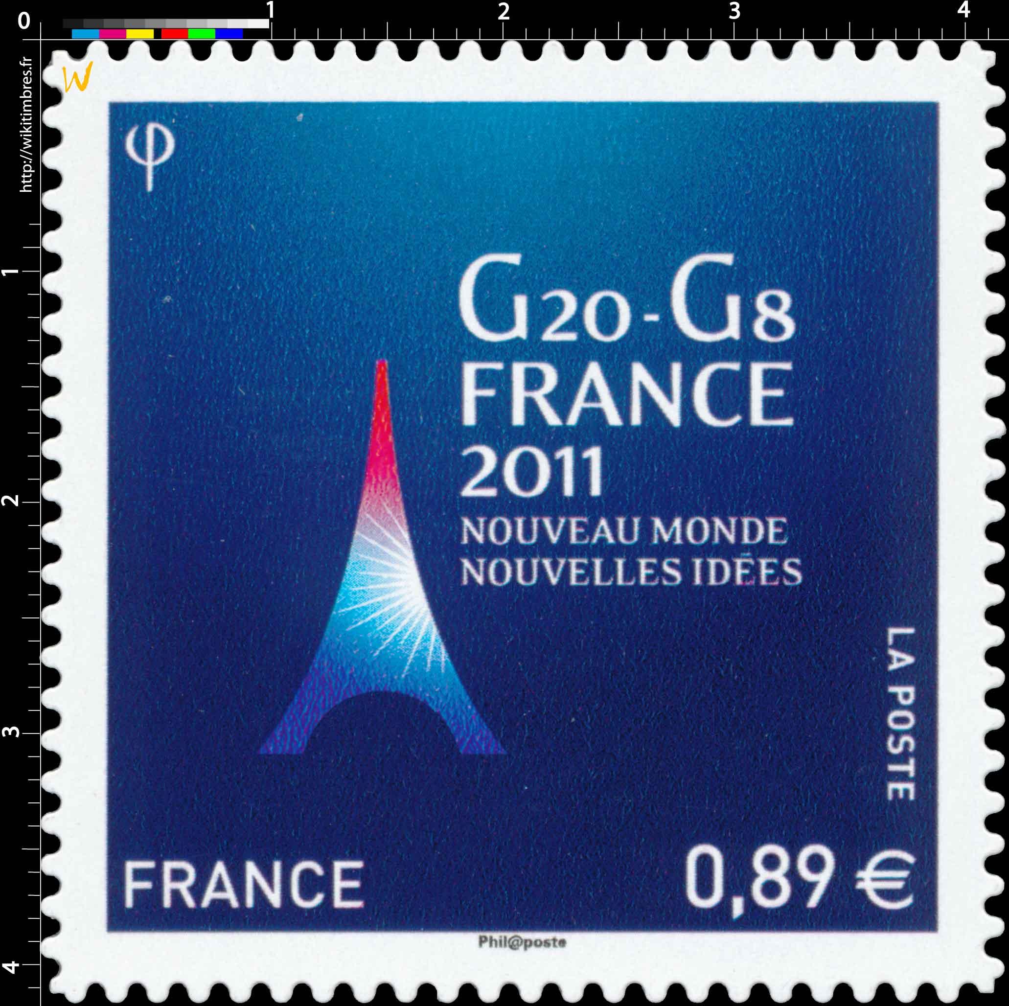 2011 G20 - G8 France 2011 Nouveau monde Nouvelles idées