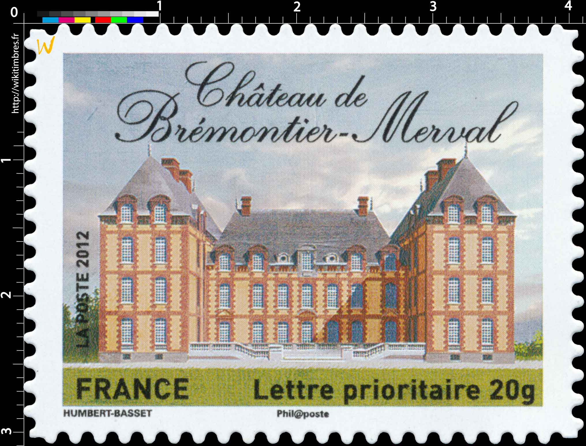 2012 Château de Brémontier-Merval