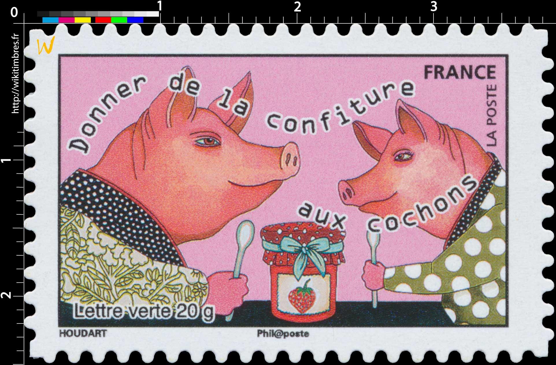 2015 Donner de la confiture aux cochons