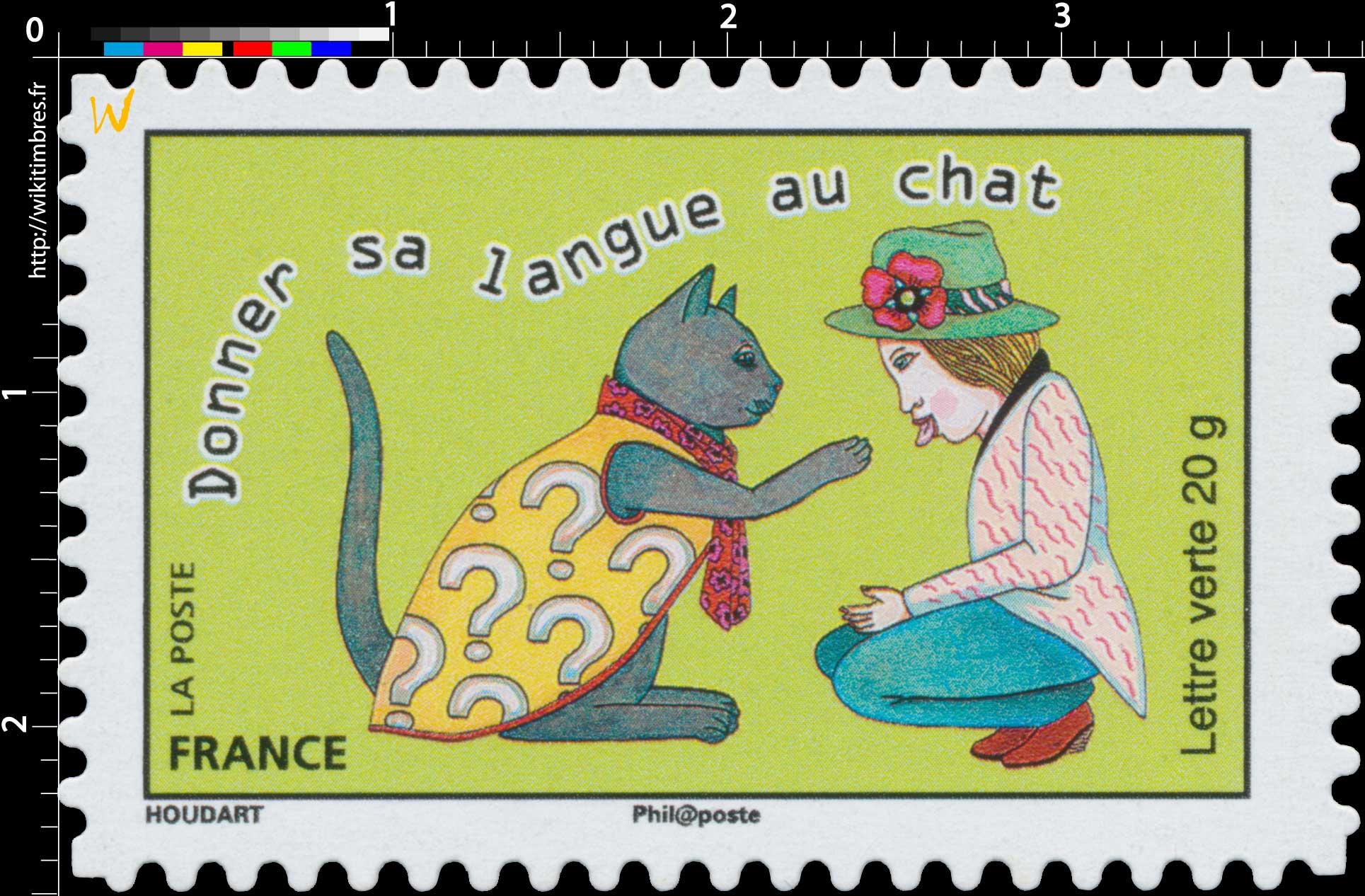 2015 Donner sa langue au chat