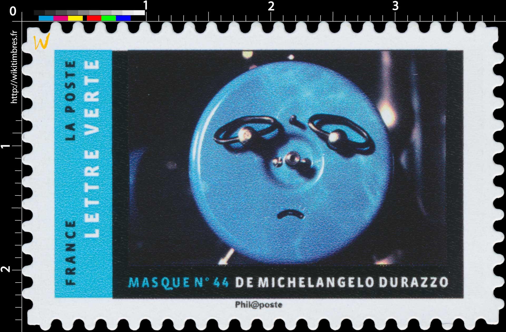 2017 MASQUE N°44 DE MICHELANGELO DURAZZO