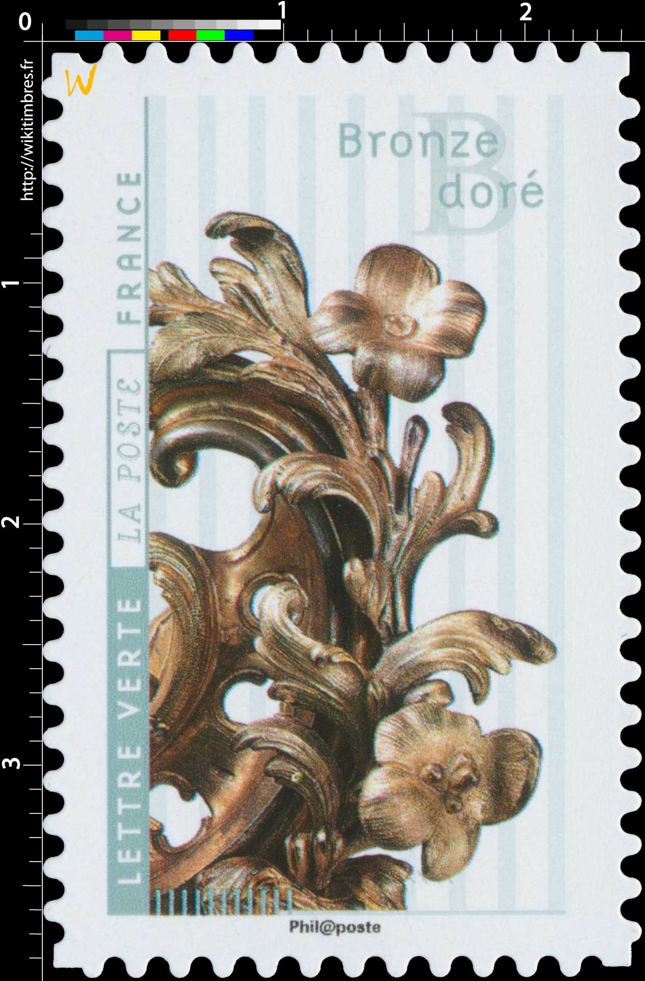 2017 Bronze doré