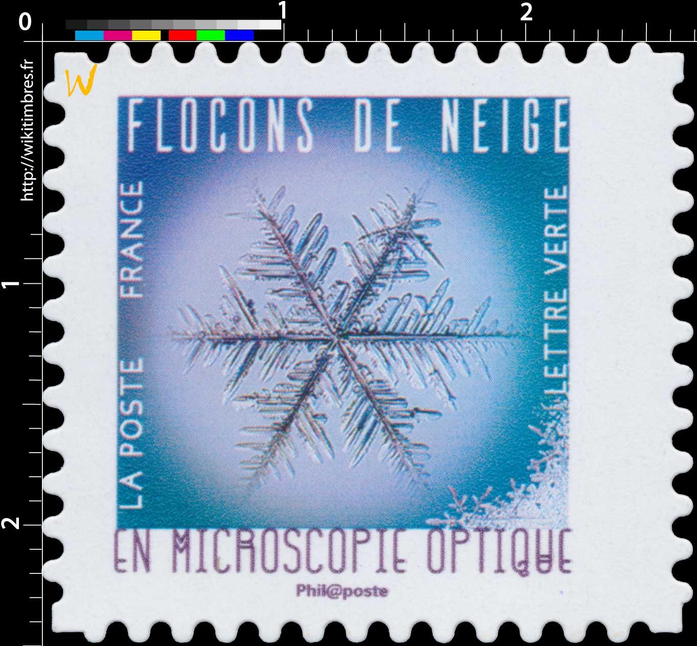 2018 FLOCONS DE NEIGE EN MICROSCOPIE OPTIQUE
