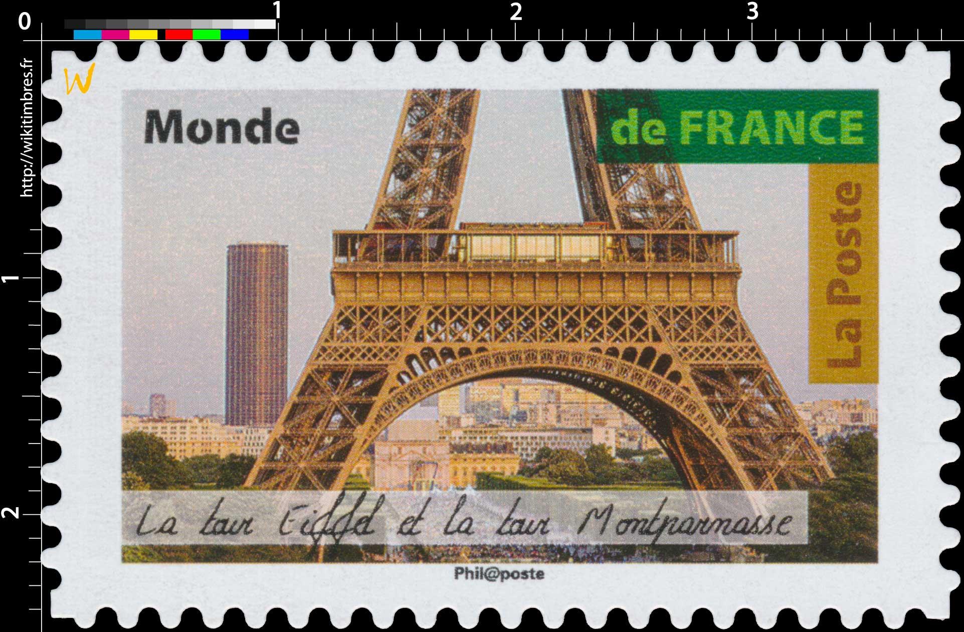 2018 Tour Eiffel et tour Montparnasse