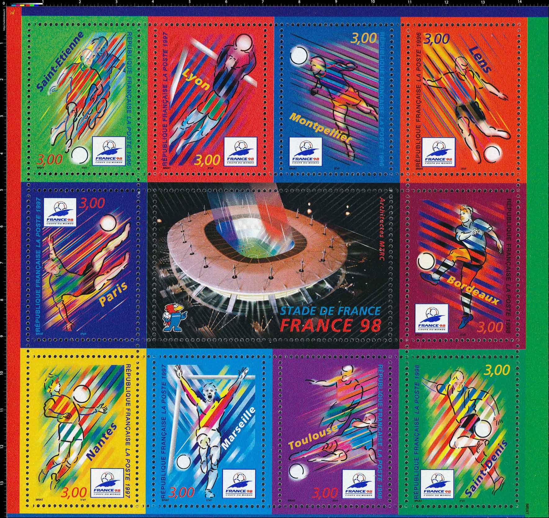 STADE DE FRANCE - FRANCE 98
