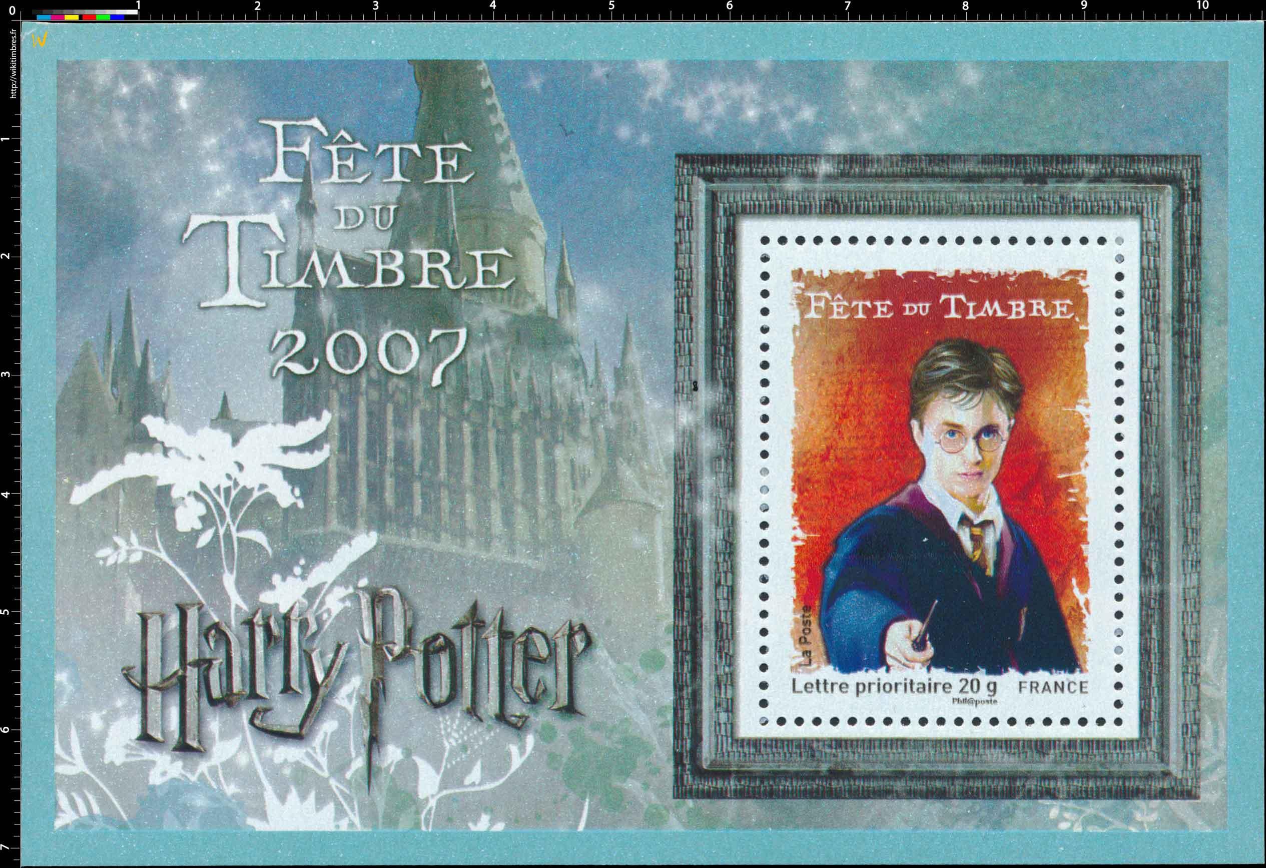 FÊTE DU TIMBRE 2007 Harry Potter