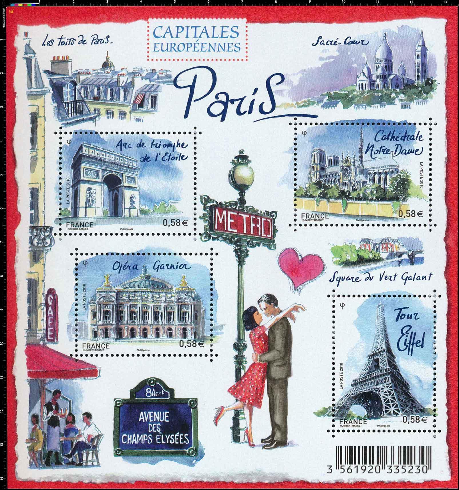 Capitales européennes - Paris
