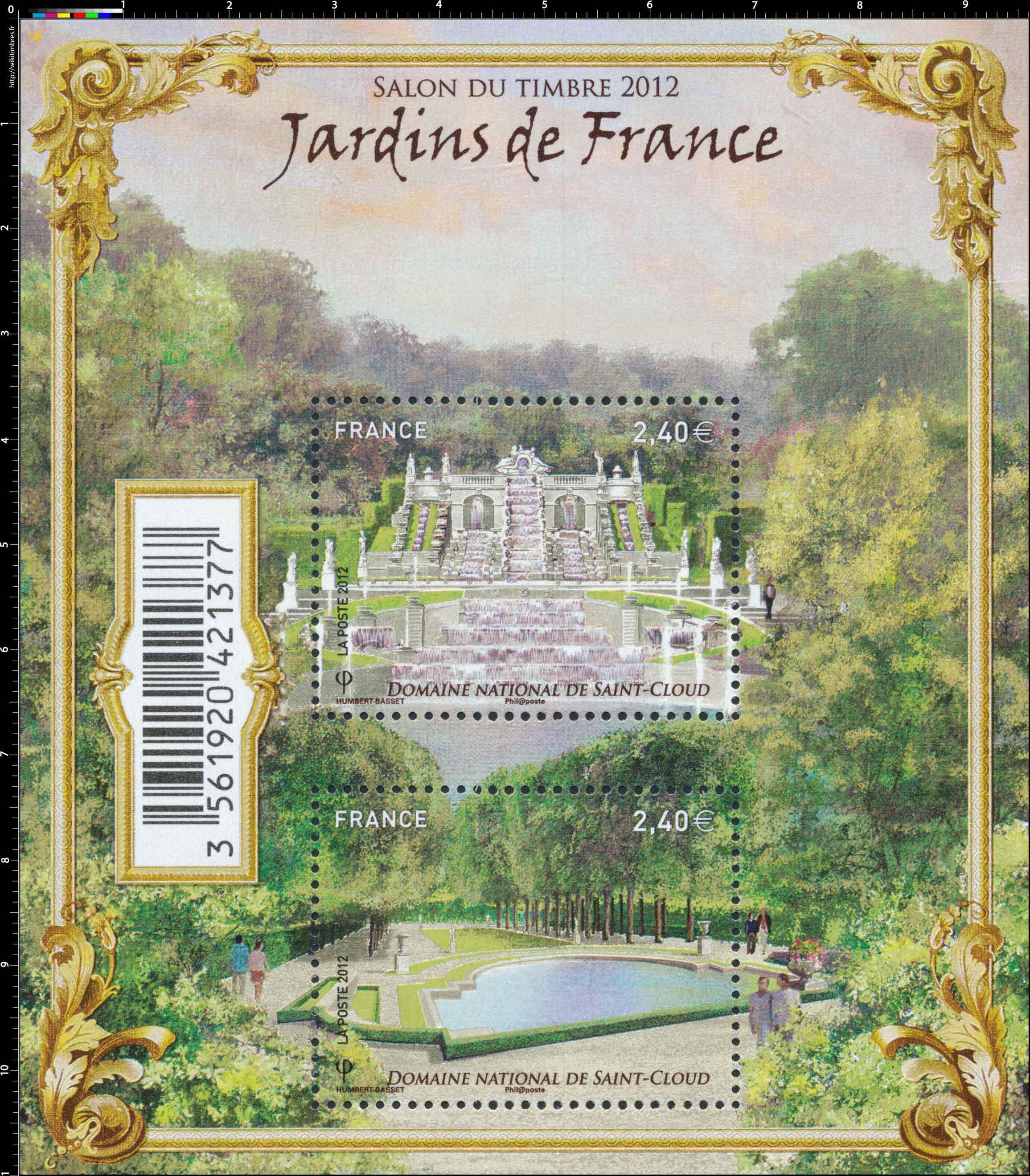 2012 JARDINS DE France Domaine National de Saint-Cloud