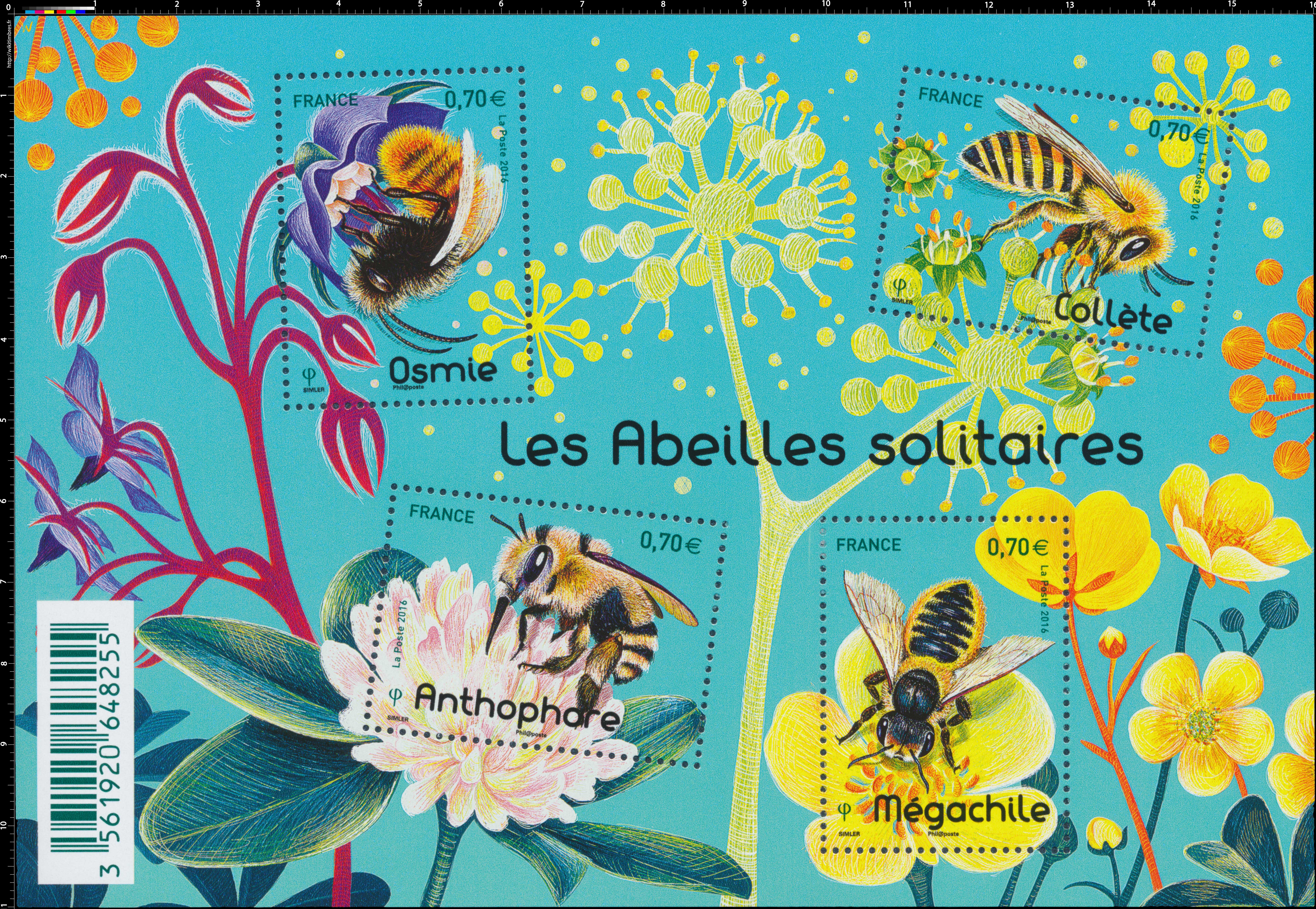 2016 Les abeilles solitaires