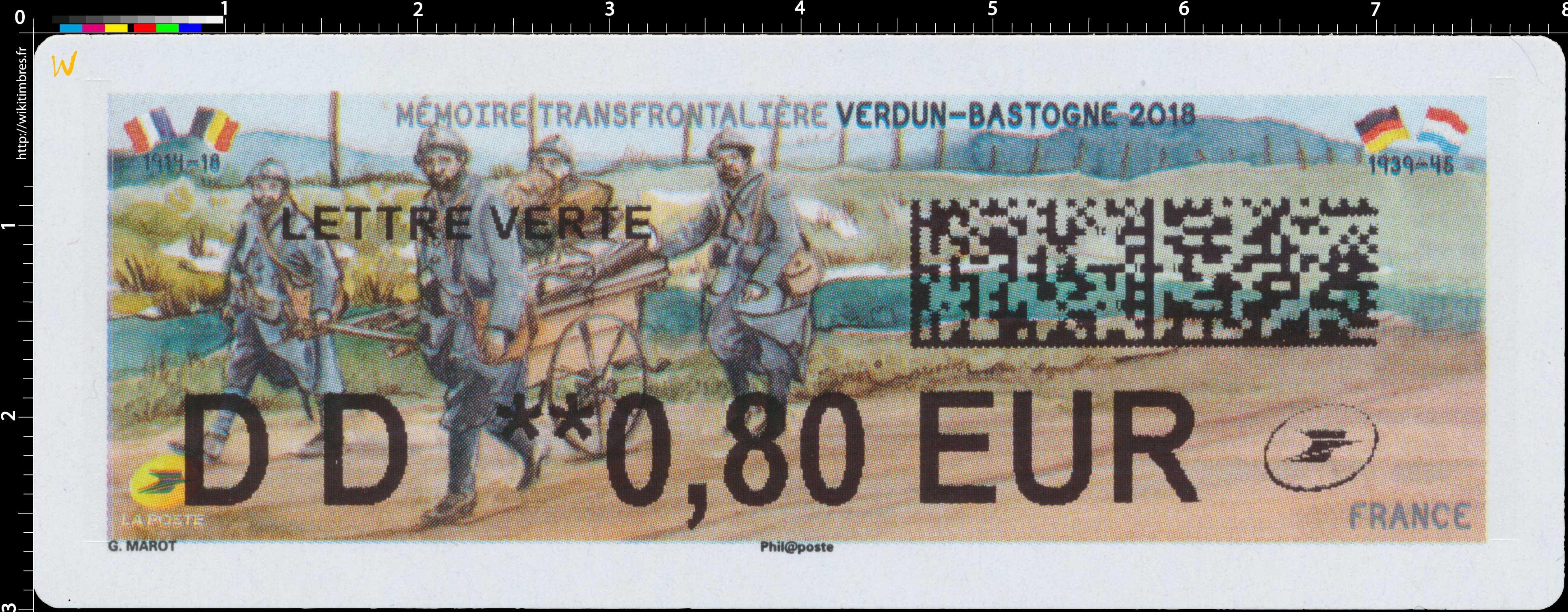 2018 Mémoire transfrontalière VERDUN-BASTOGNE